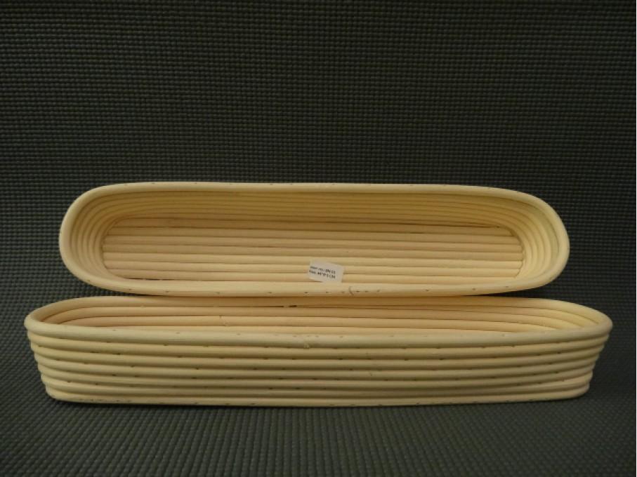 Корзинка из ротанга багетная, размер 44*9*5