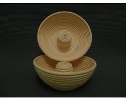 Корзинка из ротанга круглая без середины, размер 22*8,5
