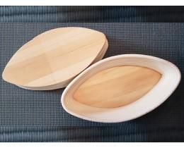 Корзинка из ротанга в форме лодочки, размер 27-15-7.5 см